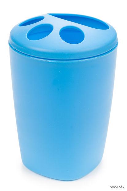"""Подставка для зубных щеток """"Aqua"""" (голубая лагуна) — фото, картинка"""