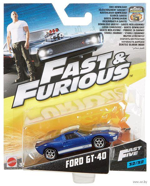 "Модель машины ""Fast&Furios. Ford GT-40"" (масштаб: 1/55) — фото, картинка"