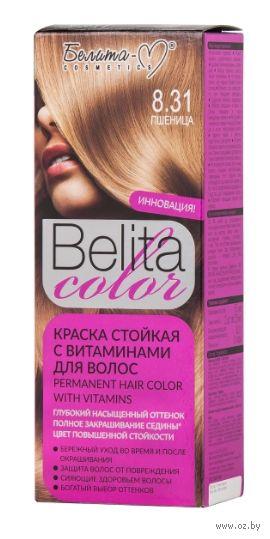 """Краска для волос """"Belita Color"""" (тон: 8.31, пшеница) — фото, картинка"""