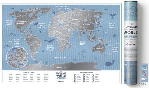 "Скретч-карта ""Weekend World"" (600х400 мм) — фото, картинка"
