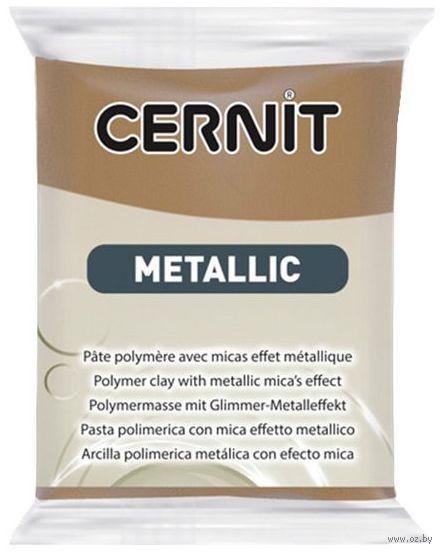 """Глина полимерная """"CERNIT Metallic"""" (античная бронза; 56 г) — фото, картинка"""