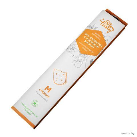 Эко-салфетка с пчелиным воском (3 шт.; 250х250 мм) — фото, картинка