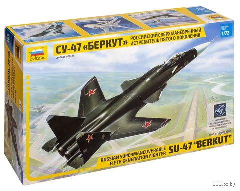 """Сборная модель """"Самолет """"Беркут"""" Су-47"""" (масштаб: 1/72) — фото, картинка"""