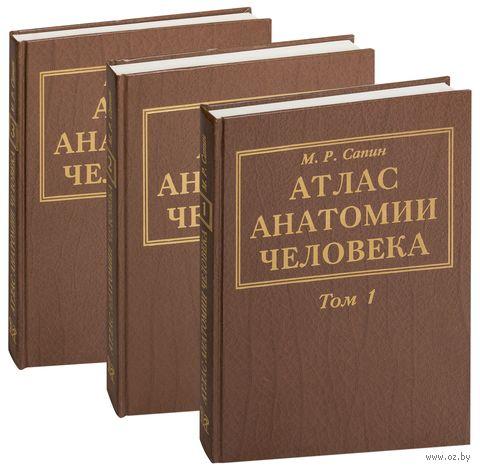Атлас анатомии человека (в трех томах). Михаил Сапин