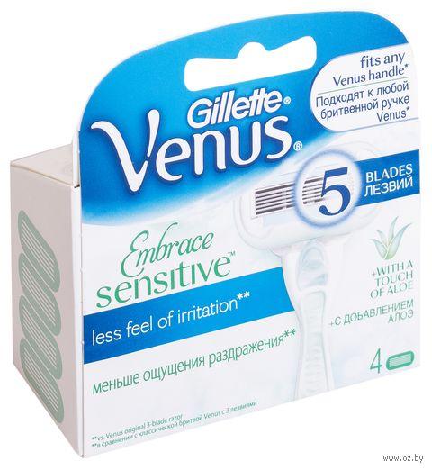 Кассета для станка Gillette Venus Proskin Sensitive (4 шт)