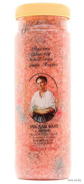 """Соль для ванн с пеной """"Увлажняющая"""" (800 г) — фото, картинка"""