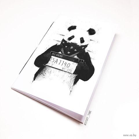 """Блокнот белый """"Панда"""" А5 (510)"""