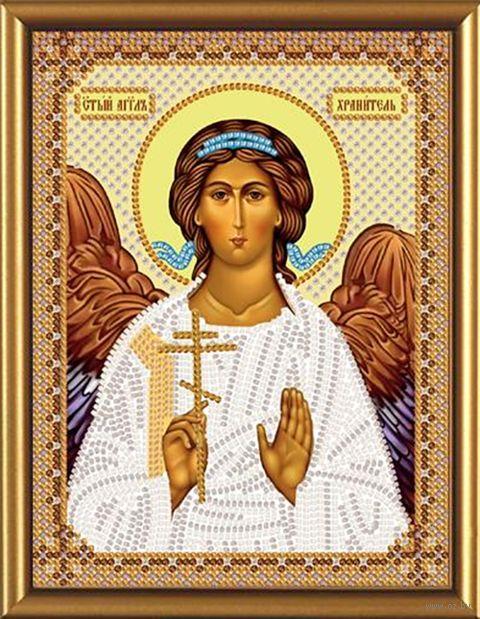 """Вышивка бисером """"Ангел Хранитель"""" (130х170 мм) — фото, картинка"""
