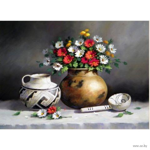 """Алмазная вышивка-мозаика """"Античный натюрморт"""" (550x400 мм) — фото, картинка"""