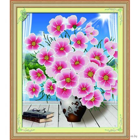 """Алмазная вышивка-мозаика """"Цветы и книги"""""""