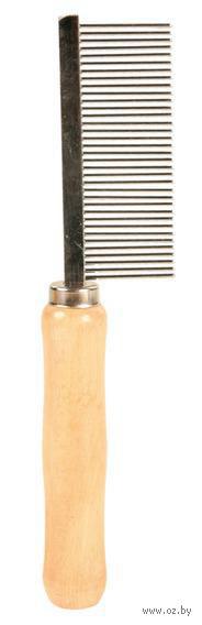 Расческа со средними зубьями (18 см) — фото, картинка