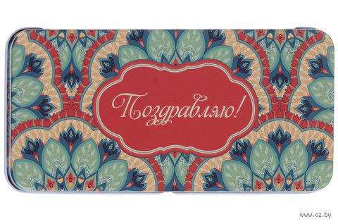 """Подарочная коробочка для денег """"Восточный калейдоскоп"""" (арт. 43678) — фото, картинка"""