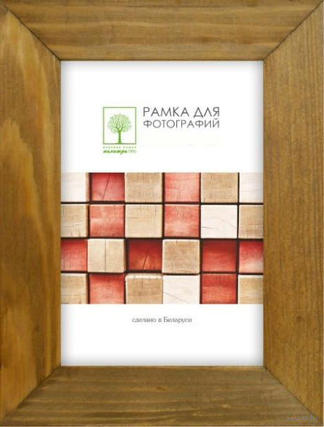 Рамка деревянная со стеклом (18x24 см; арт. Д30К/4265) — фото, картинка
