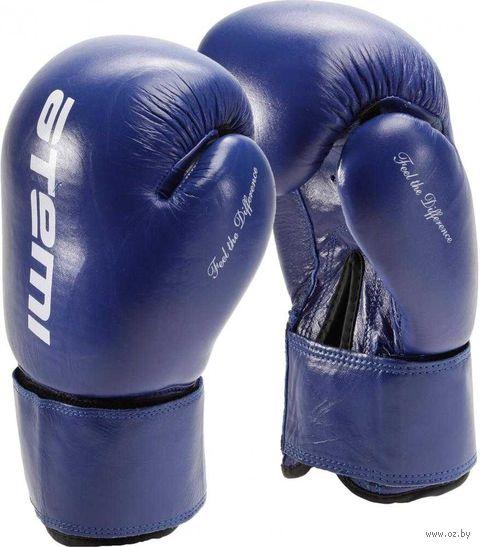 Перчатки боксёрские LTB19009 (12 унций; синие) — фото, картинка