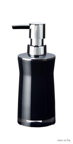 """Дозатор для жидкого мыла акриловый """"Disco Black"""" (65х65х190 мм) — фото, картинка"""