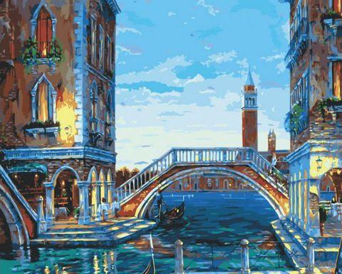 """Картина по номерам """"Каналы Венеции"""" (400х500 мм)"""