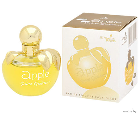 """Туалетная вода для женщин """"Apple Juice. Golden"""" (50 мл)"""