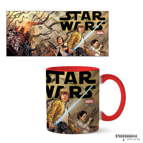 """Кружка """"Звездные войны"""" (414, красная)"""