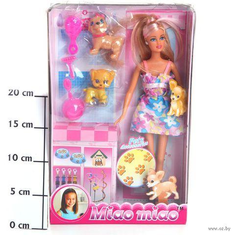 """Кукла """"Miao miao с собачками"""""""