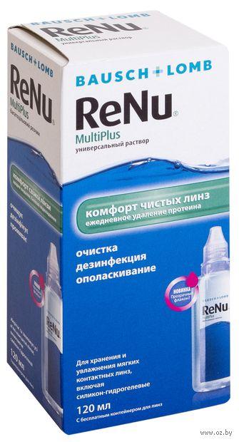 """Раствор для линз """"ReNu Multiplus"""" (120 мл) — фото, картинка"""