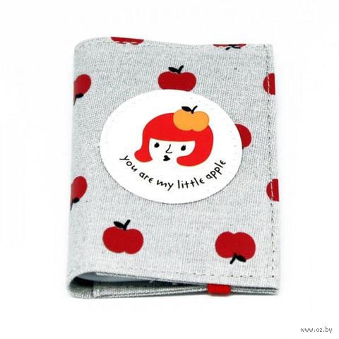 "Кредитница ""My Apple"" (20 карточек; серая) — фото, картинка"