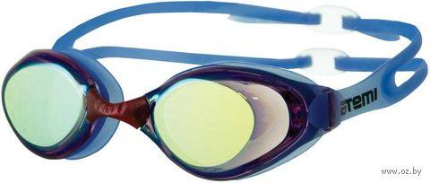 Очки для плавания (голубые; арт. L101) — фото, картинка