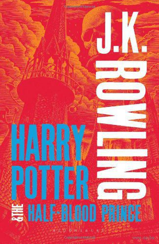 Harry Potter and the Half-Blood Prince (Adult Cover) — фото, картинка