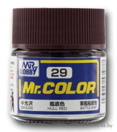 Краска Mr. Color (hull red, C29)