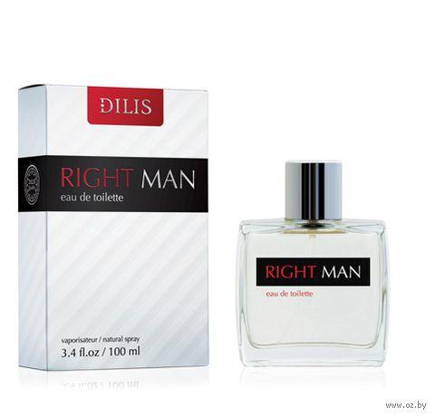 """Туалетная вода для мужчин """"Right Man"""" (100 мл) — фото, картинка"""