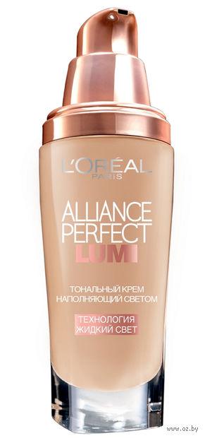 """Тональный крем для лица """"Alliance Perfect Lumi"""" (тон: N4, натуральный бежевый; 30 мл)"""