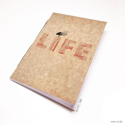"""Блокнот крафт """"Life"""" А5 (397)"""
