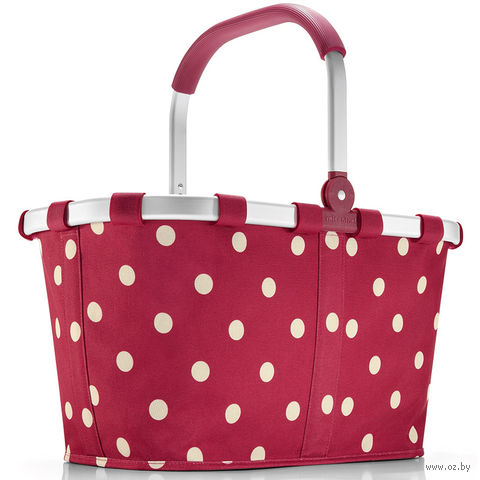 "Корзина ""Carrybag"" (ruby dots)"