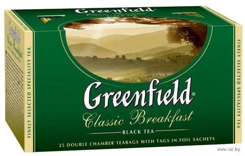 "Чай черный ""Greenfield. Classic Breakfast"" (25 пакетиков) — фото, картинка"