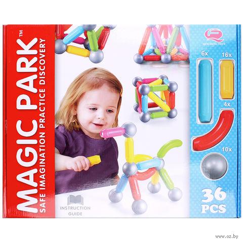 """Конструктор магнитный """"Magic Park"""" (36 деталей; арт. DV-T-601) — фото, картинка"""