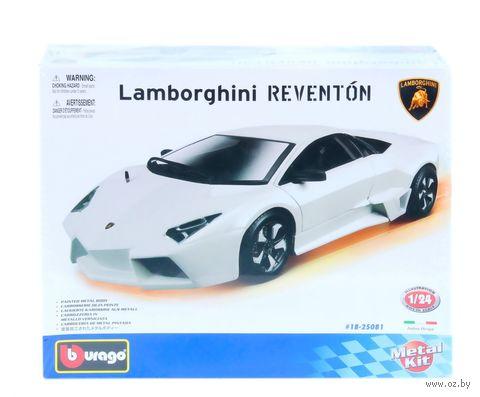 """Модель машины """"Bburago. Kit. Lamborghini Reventon"""" (масштаб: 1/24) — фото, картинка"""