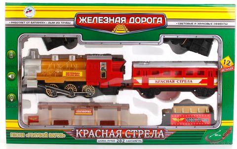 """Железная дорога """"Красная стрела"""" (арт. A144-H06049-R2) — фото, картинка"""