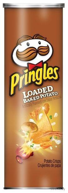 """Чипсы картофельные """"Pringles. Запеченная картошка"""" (158 г) — фото, картинка"""