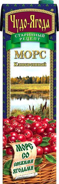 "Морс ""Чудо-ягода. Клюква"" (970 мл) — фото, картинка"