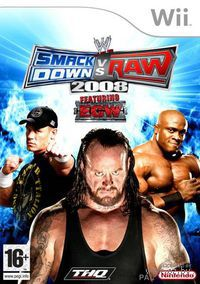 WWE SmackDown vs. Raw 2008 (Wii)