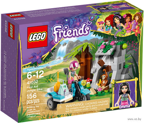 "LEGO Friends ""Джунгли: Мотоцикл скорой помощи"""