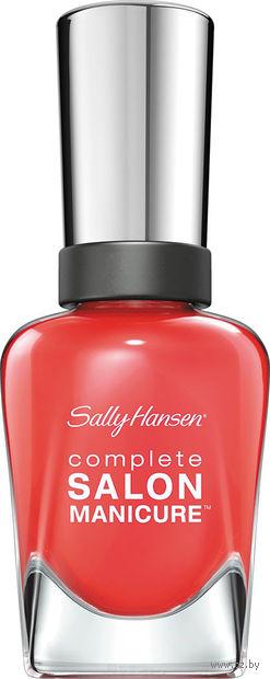 """Лак для ногтей """"Complete salon manicure"""" (тон: 560, оранжевая заря) — фото, картинка"""