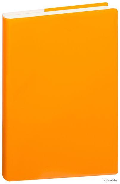 """Ежедневник недатированный """"Glossy Pro"""" (А5; оранжевый) — фото, картинка"""
