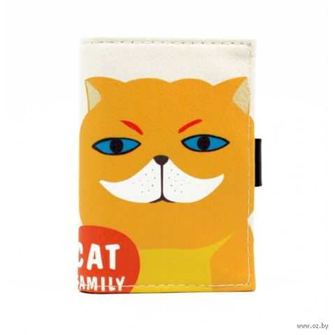"Кредитница ""Cat Family"" (20 карточек; белая) — фото, картинка"