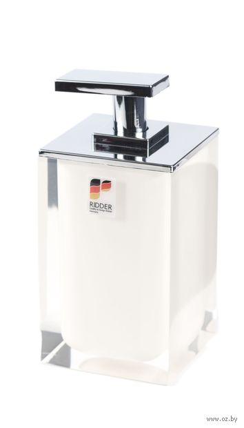 Дозатор для жидкого мыла (300 мл; белый) — фото, картинка