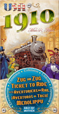Ticket to Ride: USA 1910 Expansion (дополнение)