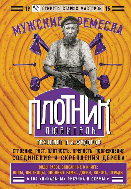 Плотник-любитель. П. Федоров