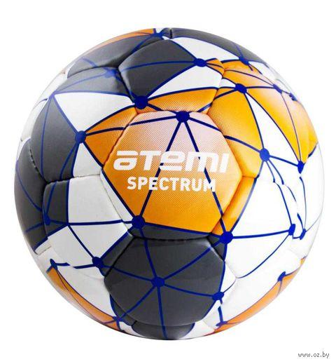 """Мяч футбольный Atemi """"Spectrum"""" №5 (бело-сине-оранжевый) — фото, картинка"""