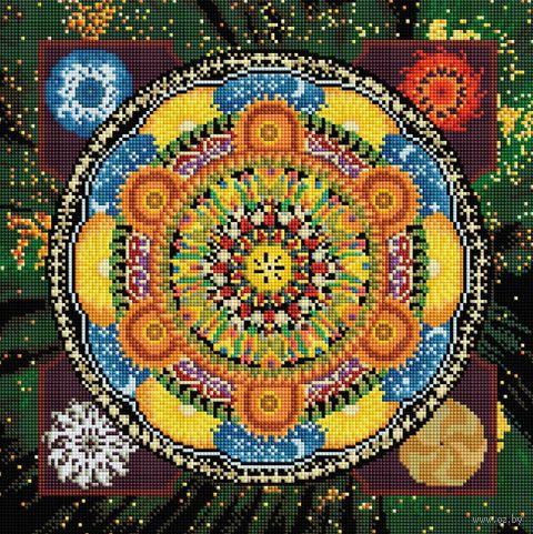 "Алмазная вышивка-мозаика ""Четыре стихии"" (400х400 мм) — фото, картинка"