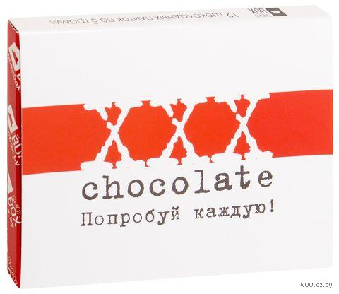 """Набор шоколада """"ХХХ"""" (60 г) — фото, картинка"""