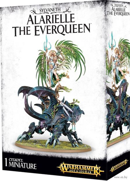 Warhammer Age of Sigmar. Sylvaneth. Alarielle The Everqueen (92-12) — фото, картинка
